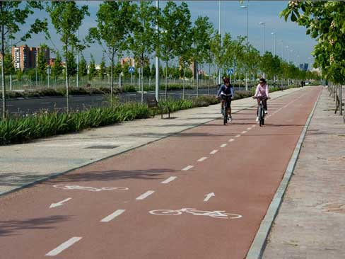 Valdebebas Masterplan: Cycling is a real transport alternative in Valdebebas