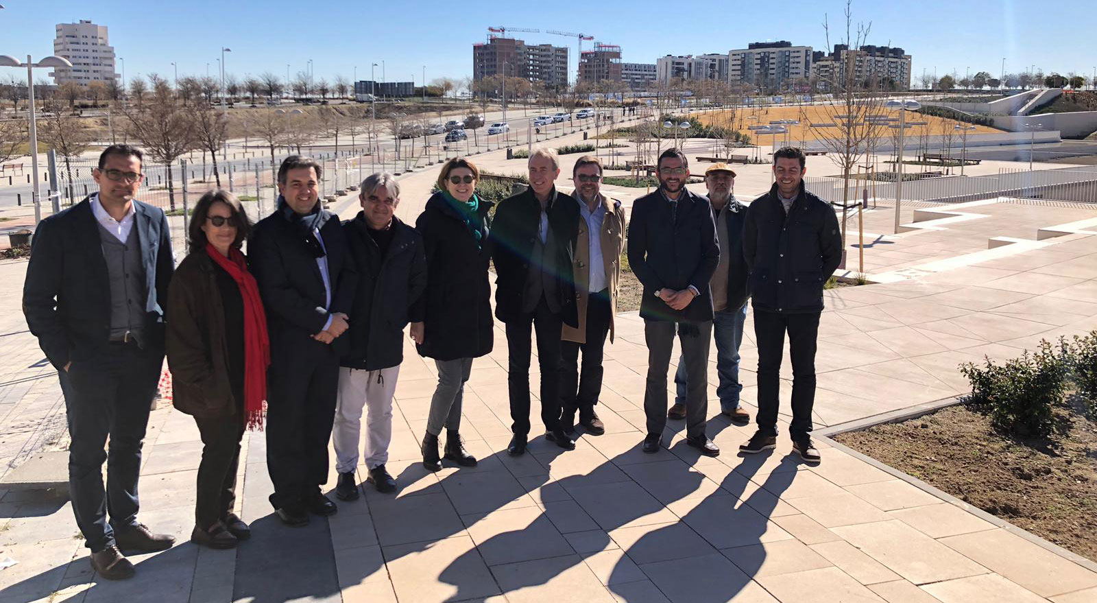 New parks in Valdebebas district officially inaugurated